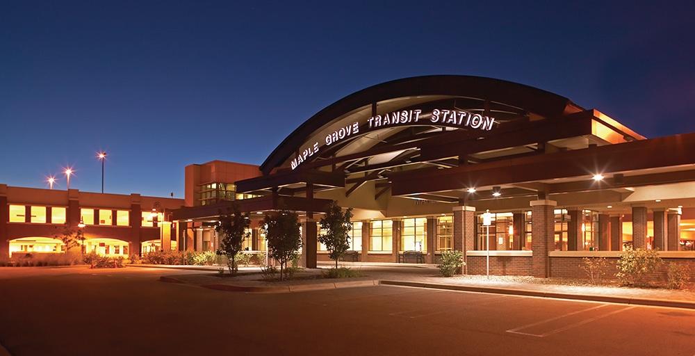 Government transit station