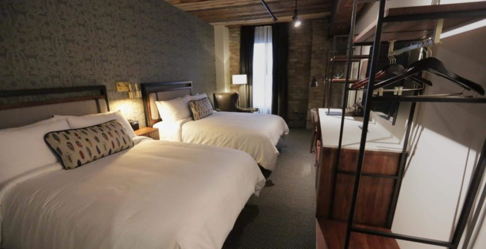 Hewing hotel Room