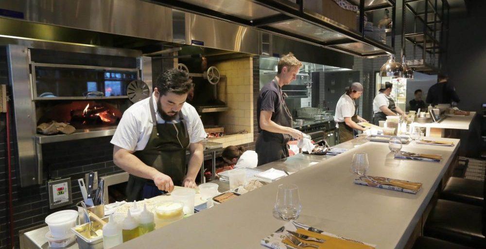 Hewing hotel kitchen