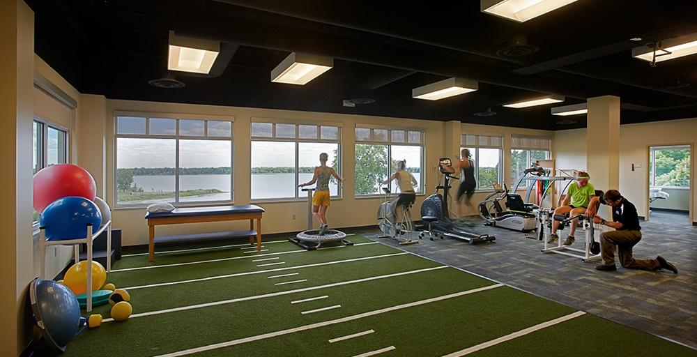 St. Croix Medical gym