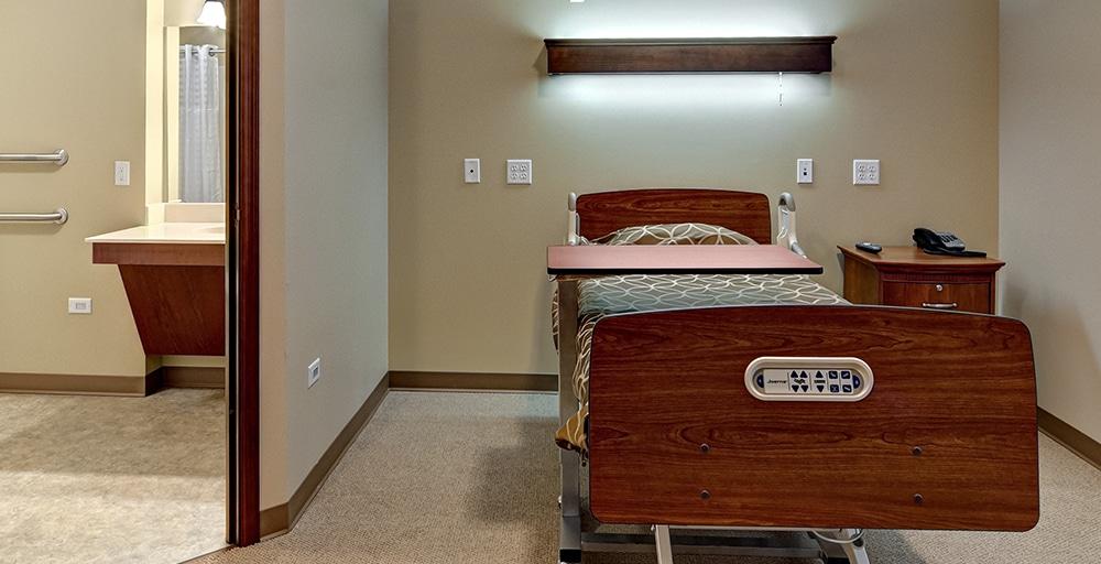 Westwood Ridge hospital room