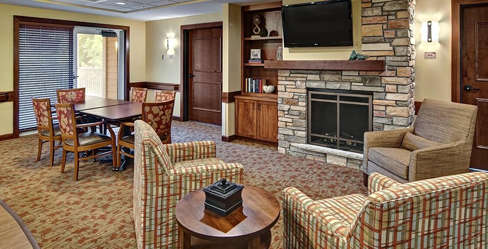 Westwood Ridge upper lounge