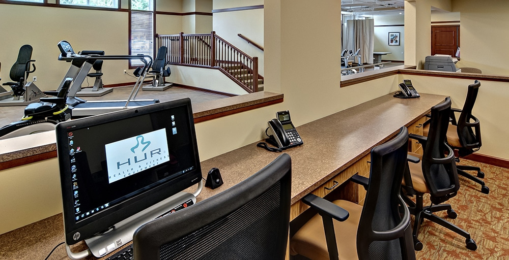 Westwood Ridge fitness room