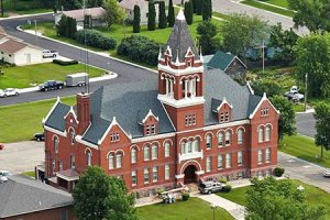 LAC QUI PARLE COUNTY COURTHOUSE
