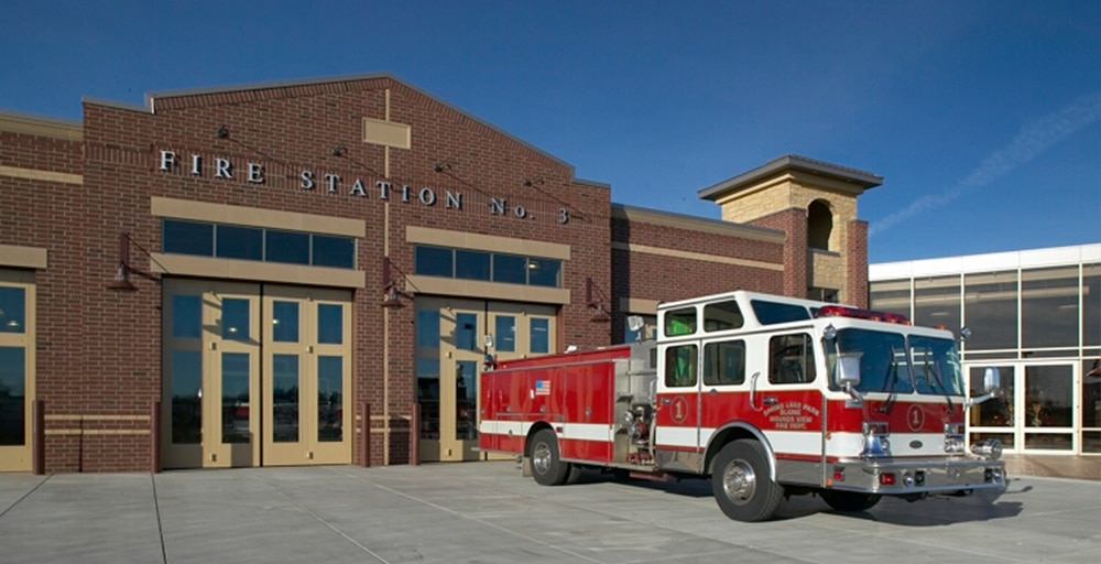 Spring Lake Park Blane Mounds View Fire Station Fire Department Steen Engineering