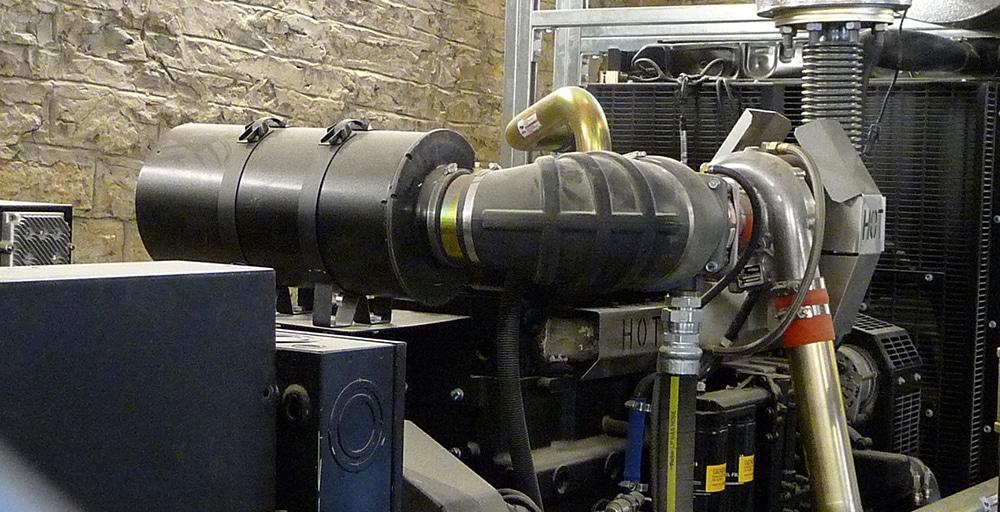 Standby power generator