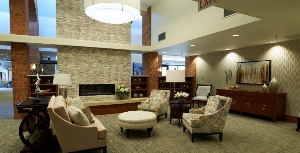 Beacon Hill lounge area