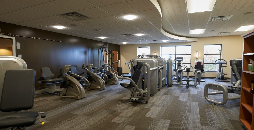 Beacon Hill workout area