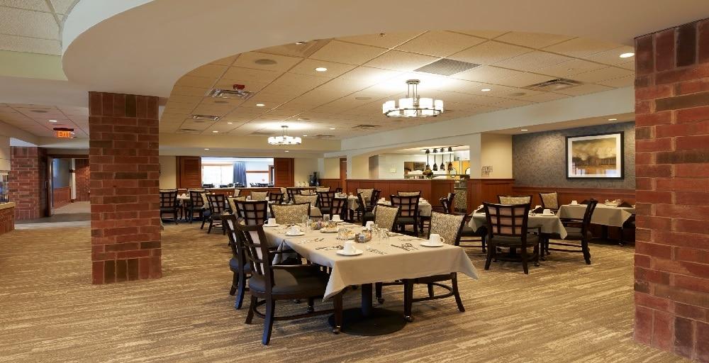 Beacon Hill dining area